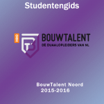 Cover studentengids Noord 2015-2016